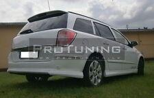 Opel Astra H Combi Caravan 04-10 Rear Foof spoiler trunk lip OPC look Vauxhall