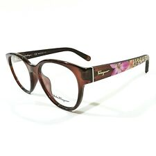 6abfd71a4f New SALVATORE FERRAGAMO Women s Eyeglasses RX Frame SF2777 210 Brown 53-18- 140