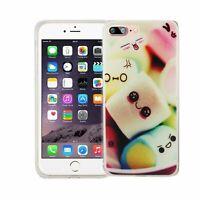 Téléphone Housse Pour Apple IPHONE 7 Plus Guimauves Sac Couvercle Motif Slim TPU