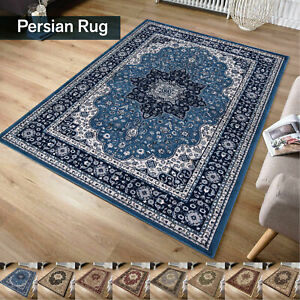 Large Vintage Traditional Rugs Living Room Carpet Thick Bedroom Mats Runner Rugs