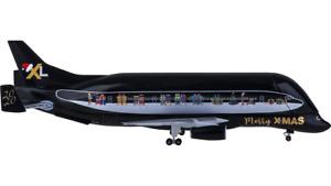 1:500 Herpa AIRBUS A330-700L Beluga XL Passenger Airplane Diecast Aircraft Model