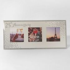Anniversary Rectangle Silver Photo & Picture Frames