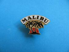 Malibu Rum pin badge. Enamel. New.