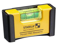 Stabila Tool Mini Level Pocket Pro Magnetic Aluminium Core 17953 With Belt Clip