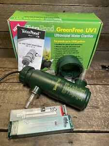 TETRA POND GREENFREE UV-1 / 9 WATT 1800 GAL. ULTRAVIOLET WATER CLARIFIER