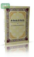 Der Koran Kuran Qoran Quran Deutsch Islam Muhammad Ibn Ahmad Ibn Rassoul *Gelb