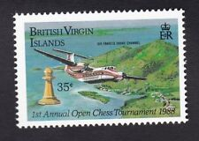 Brit Virgin Is 1988 - SG676 - Chess Tournament 35c - Mint previous hinged (C6B)