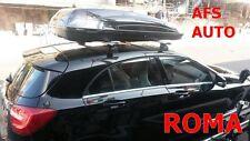 BOX AUTO PORTAPACCHI PORTATUTTO G3 HELIOS 480 NERO MONTATO SU BARRE THULE