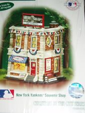 Dept 56 Christmas In The City New York Yankees Souvenir Shop Nib *Sealed*