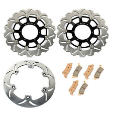 VTX 1800 F 05-11 MC MOTOPARTS Rear Brake Disc Rotor 1 Piece For HONDA VTX 1800 C 02-09 VTX 1800 R//S 02-07