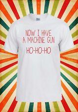 Now I Have A Machine Gun Laugh Smile Men Women Vest Tank Top Unisex T Shirt 1675