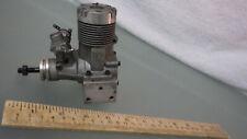 Vtg Os Max 50 Model 5107-5B Boat Gas Engine w/ Carb & Extras * Lightly Used Rc