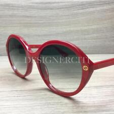 d671f8b416 Gucci GG 0023 S GG0023S Sunglasses Red 005 Authentic 55mm