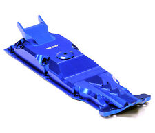 T4112BLUE Integy Evolution-6 Alloy Center Skid Plate for Traxxas 1/10 E-Revo
