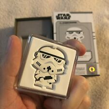 2020 Star Wars Chibi Coin: Stormtrooper 1 Oz Silver New Zealand Mint (In Hand)