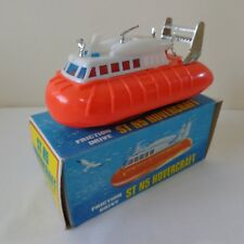 Vintage 1960's Telsalda (Hong Kong) Friction Hovercraft Toy NRMINT BOXED RARE!