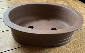 "14"" Unglazed Bonsai Tree Pots in a Variety of Styles"