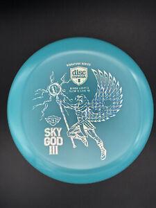 New Discmania Glow C-Line P2 - Simon Lizotte Sky God 3 - Blue - Holo Foil - 175g