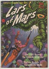 Lars Of Mars #11,Ziff-Davis,1951,Class ic Painted Cover!