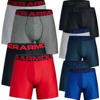 "Under Armour Men's Boxer Brief UA Tech 6"" Boxerjock Underwear - 2 Pack - 1327415"