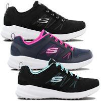 Skechers Skybound Memory-Foam Damen Turnschuhe Fitness Schuhe Sportschuhe NEU