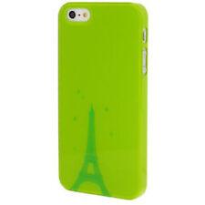 HardCase Smooth für Apple iPhone 5 Eiffelturm in grün Hülle Case Etui Schutzcase