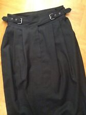 NEUw! Pencil Skirt Bleistift Rock Wolle feinste ital. Qualität XS Gr. 34*TOP*