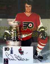 BILL BARBER 8X10 PHOTO WITH AUTOGRAPHED INDEX CARD