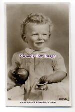 r1501 - Duke & Duchess of Kents son Prince Edward - postcard