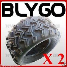 "2X QIND 4PLY 22X10- 10"" inch Rear Tyre Tire 200cc 250cc Quad Dirt Bike ATV Buggy"