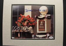 Mickey Mantle 1974 Hall of Fame Induction Autographed 8x10 Signed Photo JSA LOA