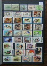 Dominica MNH/MM range of Commemorative issues Fish Birds Football etc