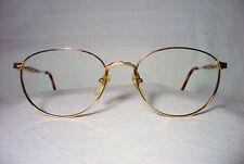 Monet eyeglasses 22 kt gold plated square oval frames women's super vintage