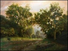 "Bradley Elsberry ""A Letter to God"" Oil on canvas Hand Signed Make an Offer"