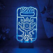 OFFIZIELLES NINTENDO The Legend of Zelda shiekah Schiefer Nacht Lampe - verpackt