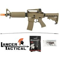 Lancer Tactical LT-01T ProLine Series 400 FPS M933 Commando M4 Airsoft Rifle