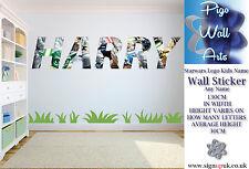 Lego Wall Art Autocollant Star Wars enfants nom votre nom Enfants Chambre Mur Decal