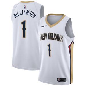 New Orleans Pelicans Mens Nike Association Swingman Jersey - Williamson - New