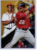 Juan Soto 2019 Topps Gold Label Class One 5x7 Gold #66 /10 Nationals