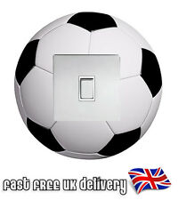 Football Light Switch Surround Cover Vinyl Wall Sticker Skin