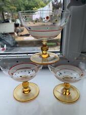 Vintage Sundae/cocktail Glasses