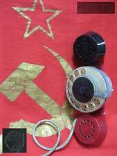 vintage Phone Telephone Handset Dialer Dial service personnel 80s Soviet Russian