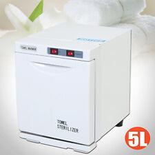 3in1 5L Hot Towel Warmer Cabinet UV Sterilizer Heater Spa Salon Beauty Equipment