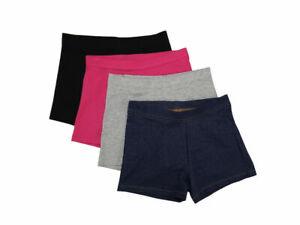 Members Mark Girl's Cart Wheel 4-Pack Shorts - Size 14/16