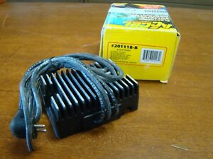 ACCEL 201118-B ELECTRONIC VOLTAGE REGULATOR REPLACES OEM 74516-86 NOS