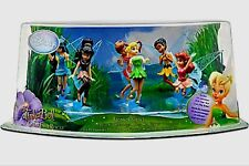 Disney Store Exclusive Tinker Bell Great Fairy Rescue 6 Piece Figure Set New