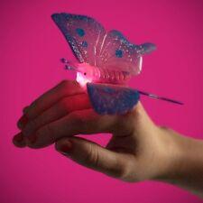 bague anneau PAPILLON lumineux étincelant LED jouet magique surprise enfant