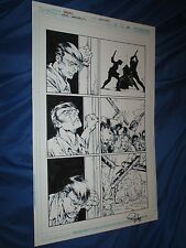 RED LANTERNS #5 Original Art Page #18 by Ed Benes/Rob Hunter (Green/DC Comics)