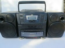 Jvc Pc-Xc60 Stereo System Boombox 10 Disc Cd Changer Vintage Boom Box