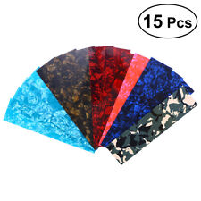 DIY Guitar Pick Punch Sheets 15 Pcs Musicians Recommended Light Medium and Heavy